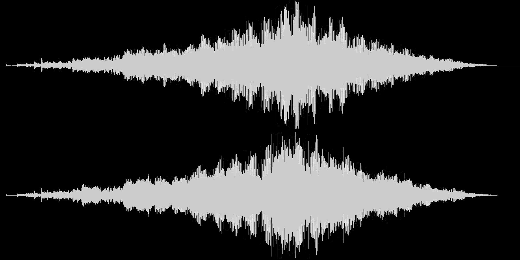 企業向けサウンドロゴ~ハープと管弦楽器~の未再生の波形
