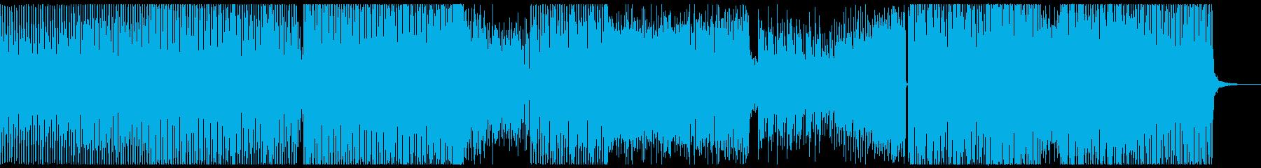 グランドキャニオンの夜空をドローンで舞うの再生済みの波形