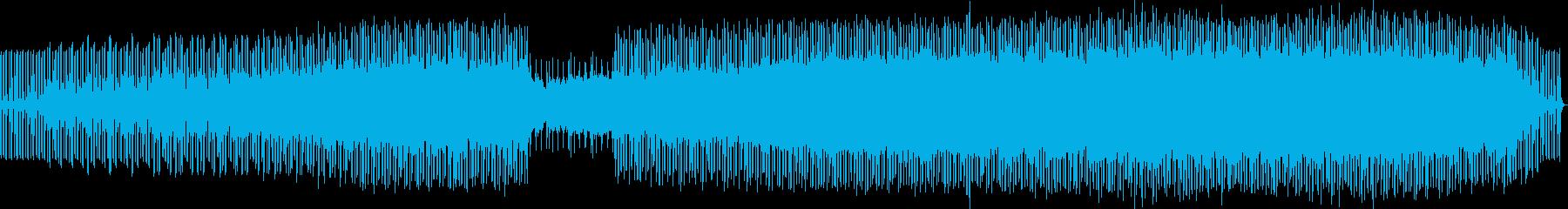 陽気でハッピーなミドルテンポのEDMの再生済みの波形