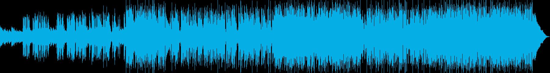 ポップソフトなポップ/ロックの男性...の再生済みの波形