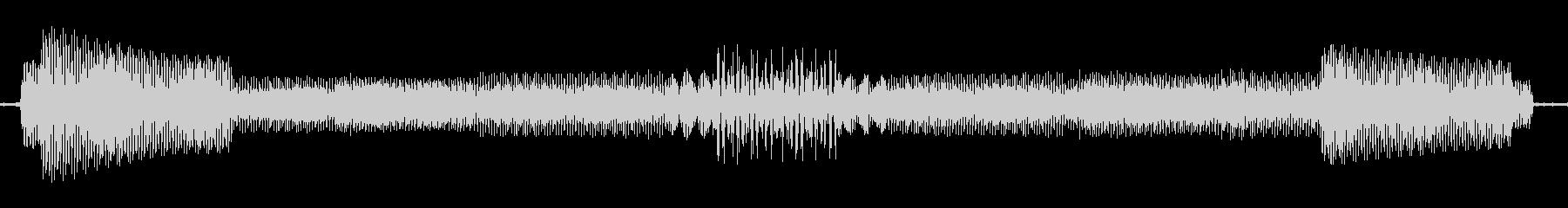 ビープ音03の未再生の波形