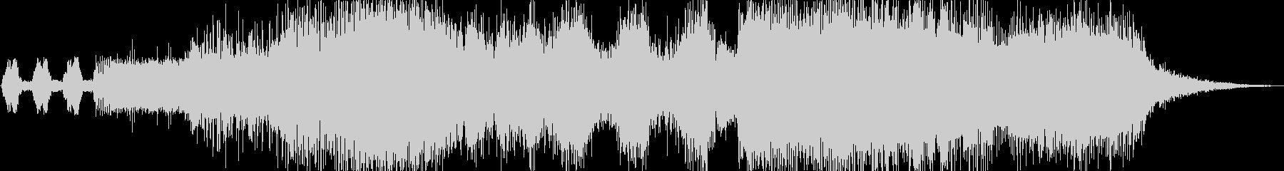 シンフォニック系ジングルの未再生の波形