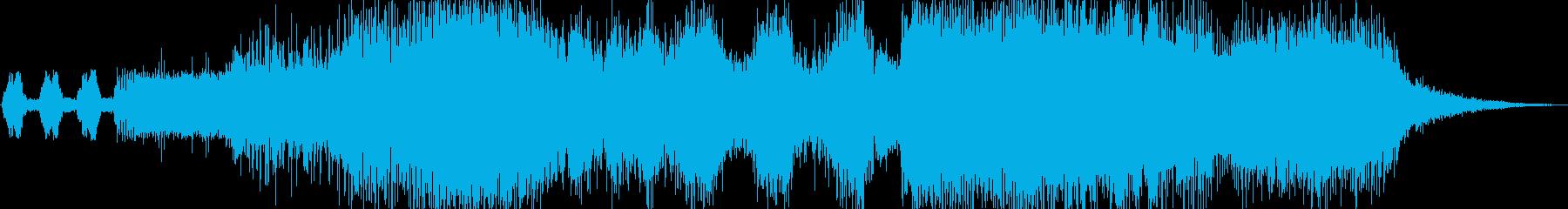 シンフォニック系ジングルの再生済みの波形
