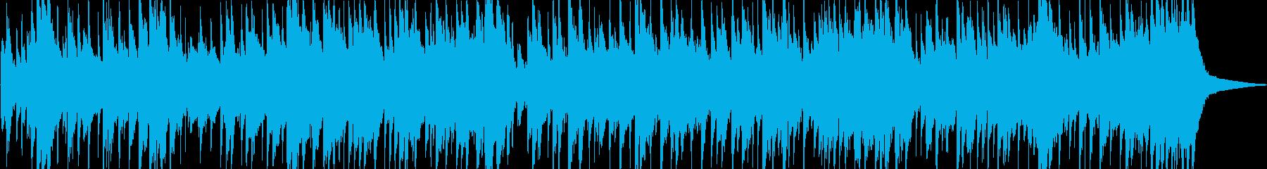 ナイロンギターが奏でるロックバラードの再生済みの波形
