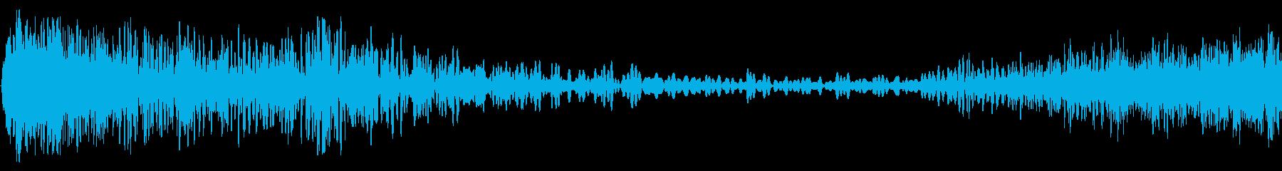ダイブアンドライズの再生済みの波形