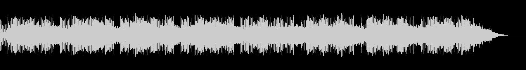 ボイスパーカッションによる民族風の曲の未再生の波形