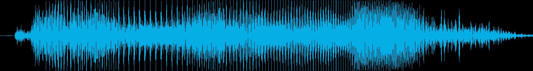 ていっ!の再生済みの波形