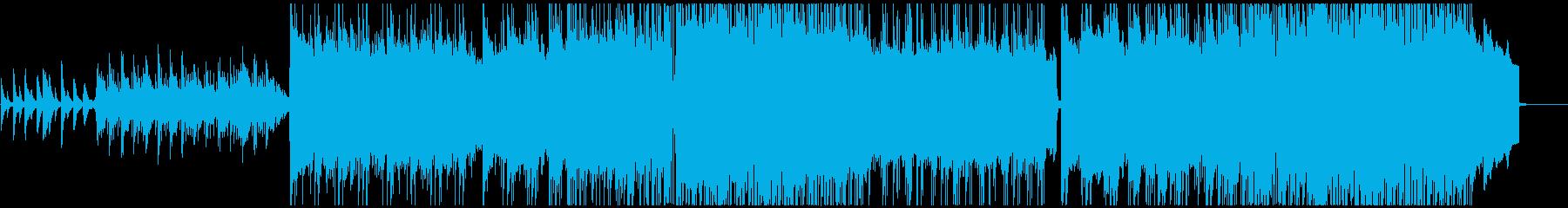 切なくきれいなピアノインスト曲の再生済みの波形