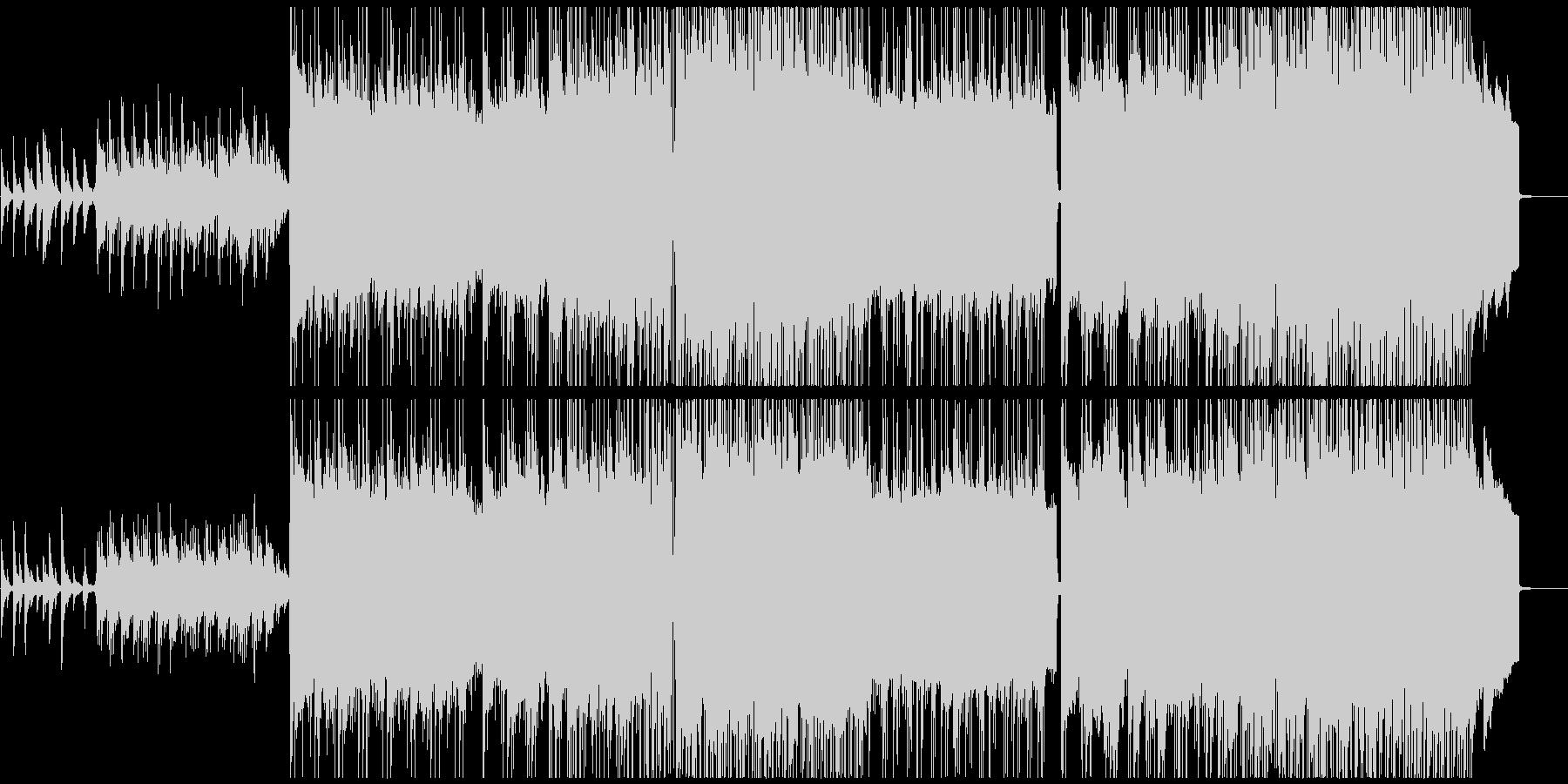 切なくきれいなピアノインスト曲の未再生の波形