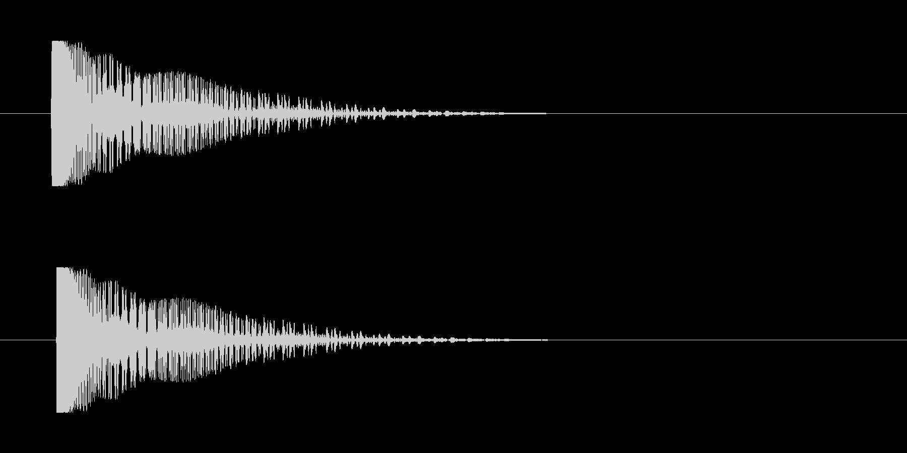 レーザー音-141-3の未再生の波形