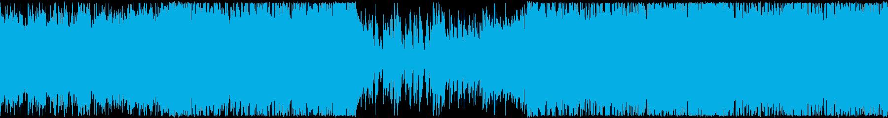 ループ・おしゃれな洋楽R&Bの再生済みの波形