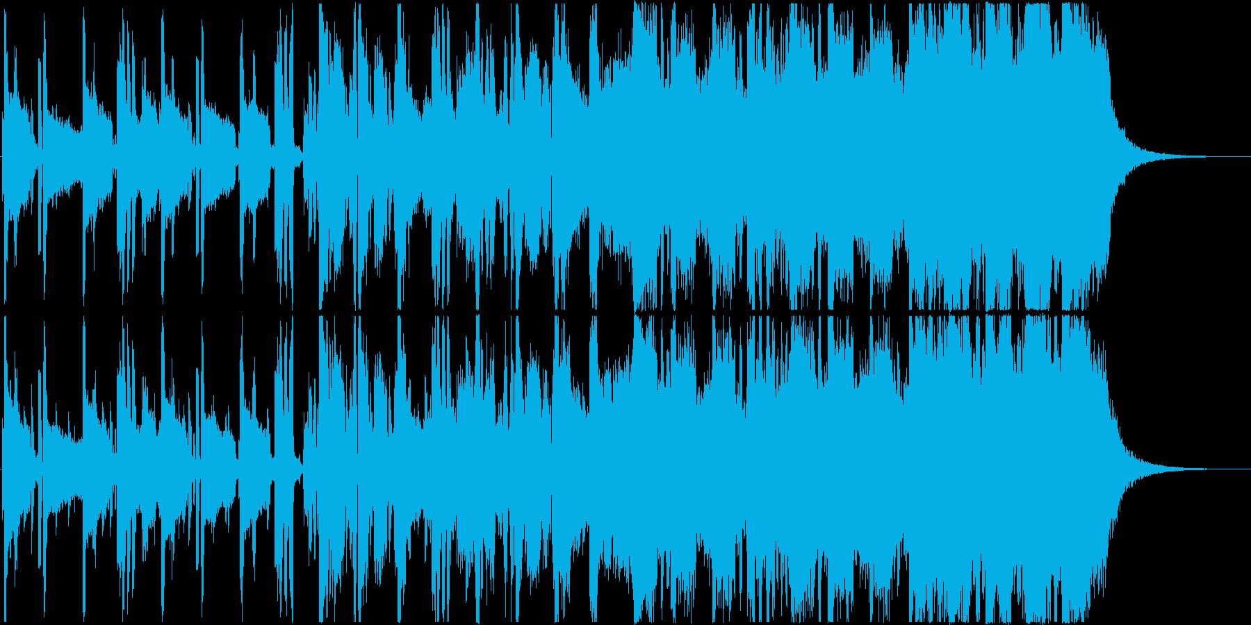 クールでかっこいい洋楽風の曲、CM等にの再生済みの波形