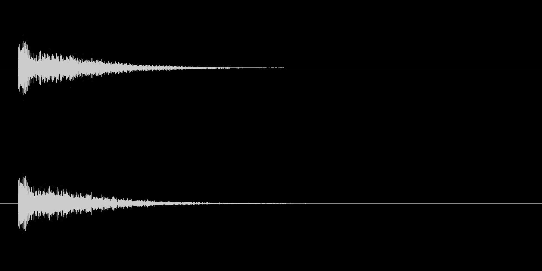 【スポットライト04-1】の未再生の波形