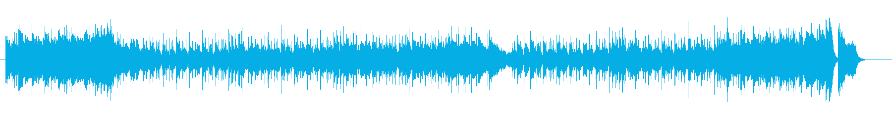 起伏に富んだアーバン・ポップの再生済みの波形