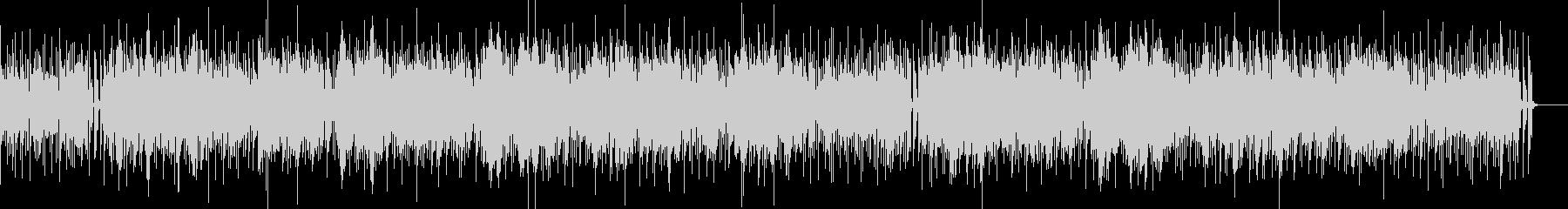 シンセサウンドのボサノバの未再生の波形