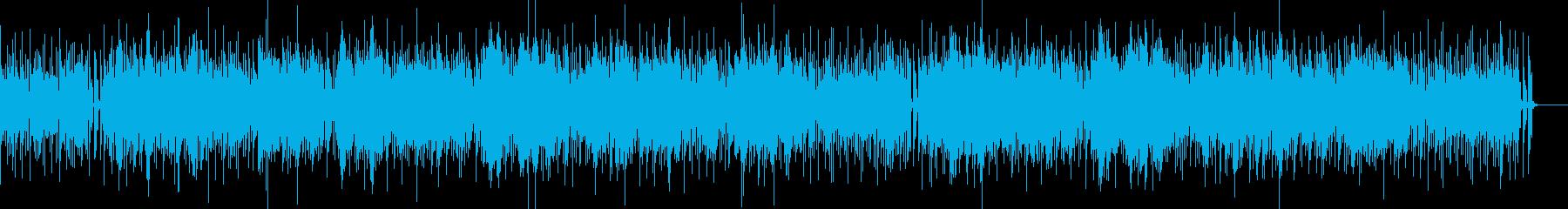 シンセサウンドのボサノバの再生済みの波形