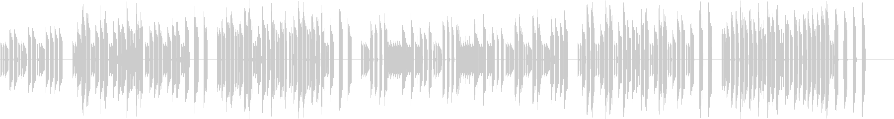 3分クッキングの原曲【シンセ】2の未再生の波形