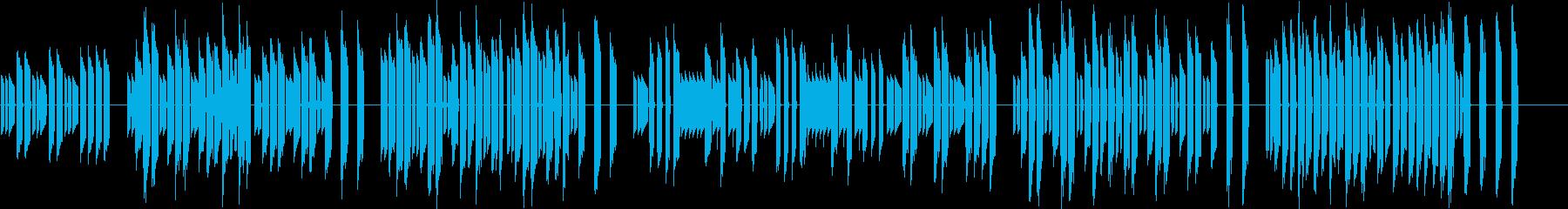 3分クッキングの原曲【シンセ】2の再生済みの波形