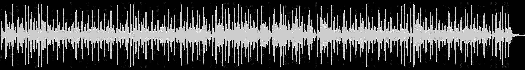 ほのぼの日常、コミカルでルンルンな曲Bの未再生の波形