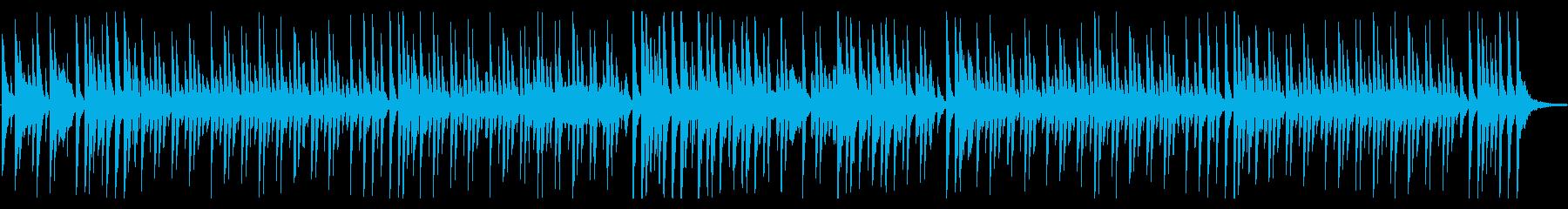 ほのぼの日常、コミカルでルンルンな曲Bの再生済みの波形