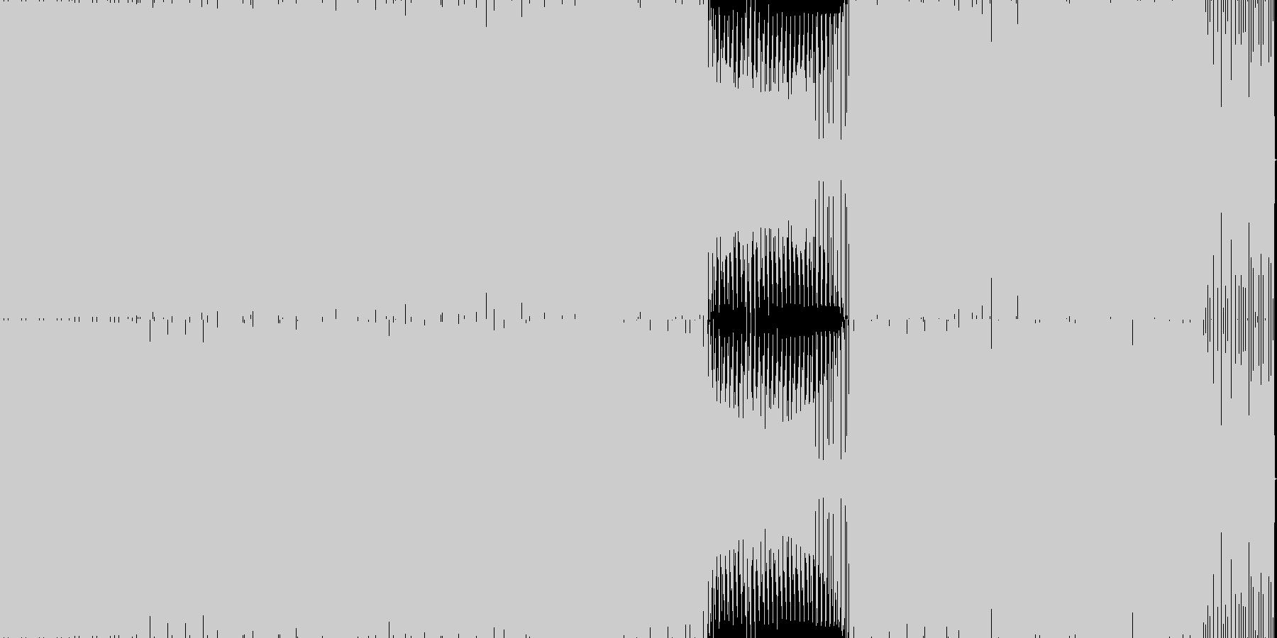 GuruGuru の未再生の波形
