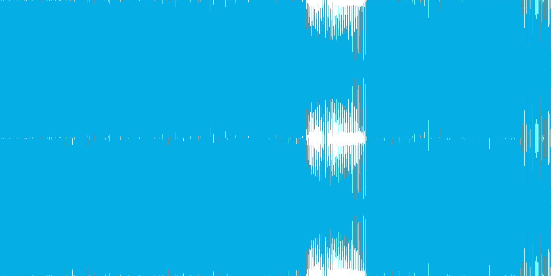 GuruGuru の再生済みの波形