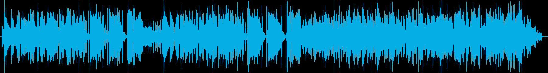クレイジー、ジャズの即興演奏の再生済みの波形