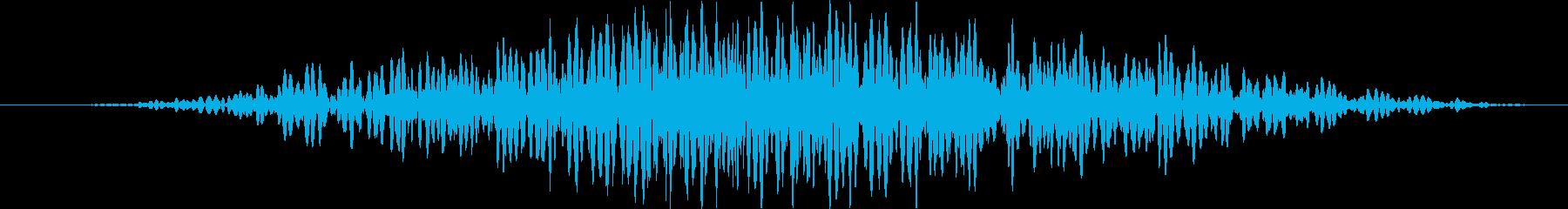 三バカ大将の再生済みの波形
