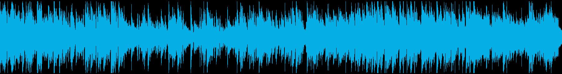 スマート、ライトな紳士ジャズ ※ループ版の再生済みの波形