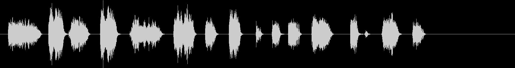 ドアクリーク;ウッドドアクリーク、...の未再生の波形