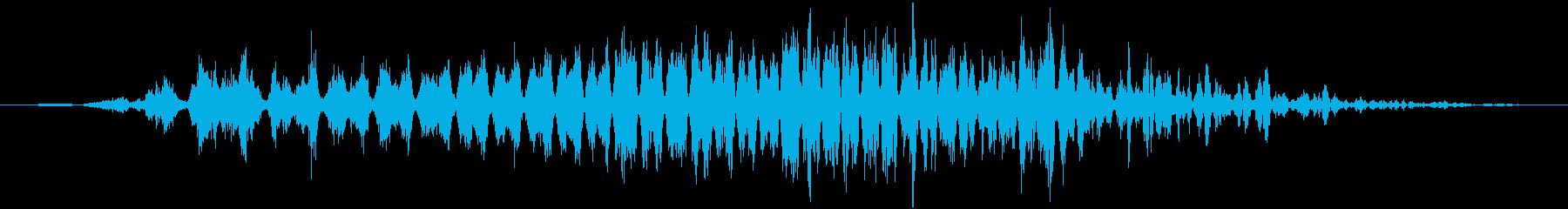トランジション ヒューシュフラッター20の再生済みの波形