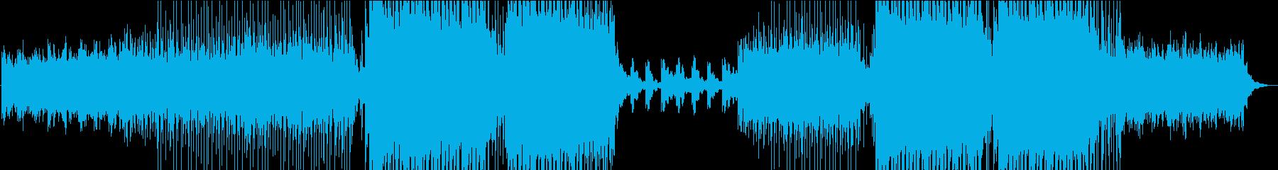 トロピカルハウス◆~カワイイメロディ~②の再生済みの波形