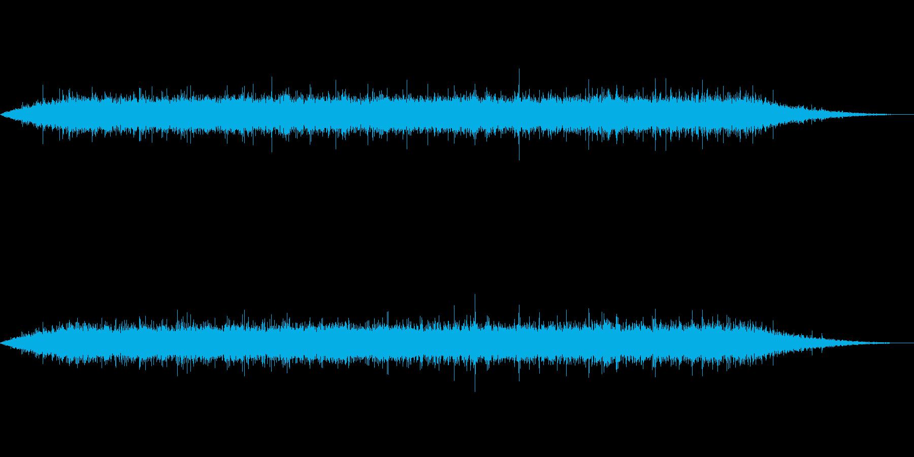 【自然音】小川のせせらぎ_1の再生済みの波形