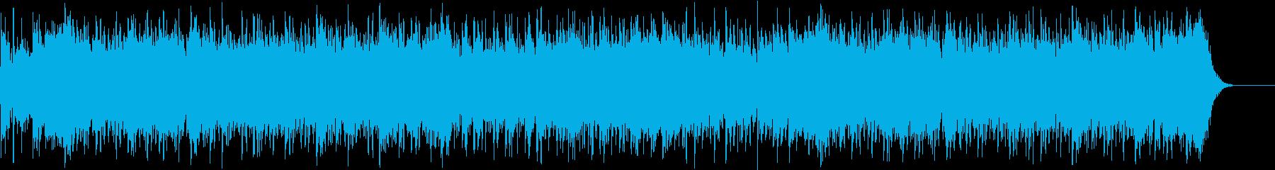 堂々と進軍するイメージ(勇壮感)の再生済みの波形