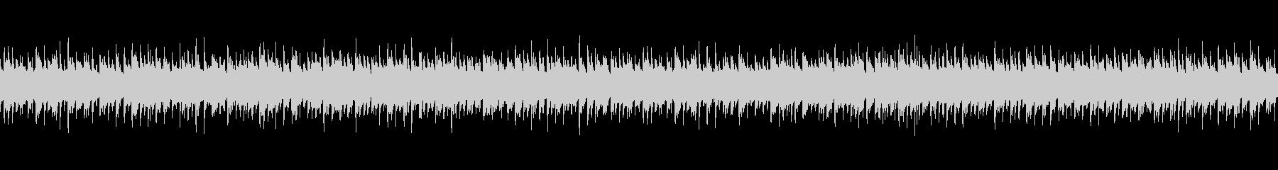 アコギの伴奏と幻想的なシンセを合わせた曲の未再生の波形
