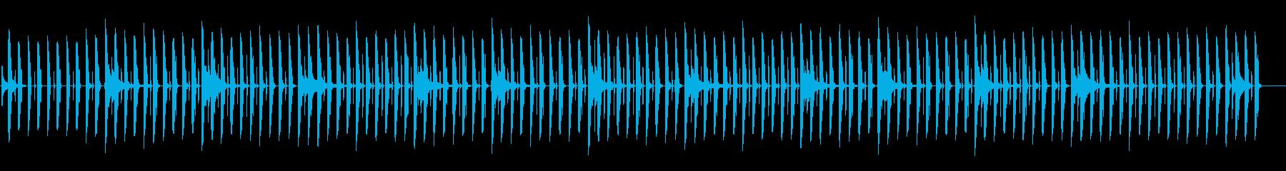 かわいいシンキング/ギター/教育番組4の再生済みの波形