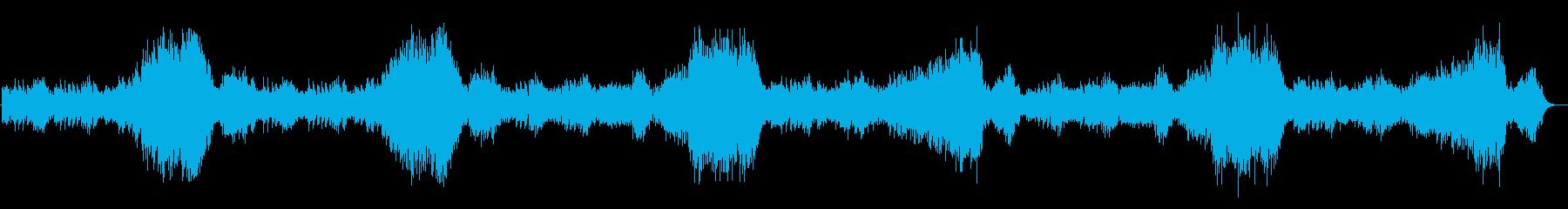 中世のカジノやバーに合いそうなピアノ曲の再生済みの波形