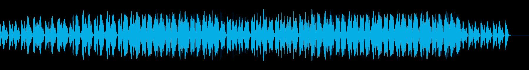 ゆるーく、かわいいピアニカBGMの再生済みの波形