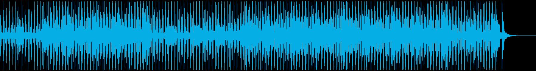 チープ感がオシャレ可愛いロック、ショートの再生済みの波形