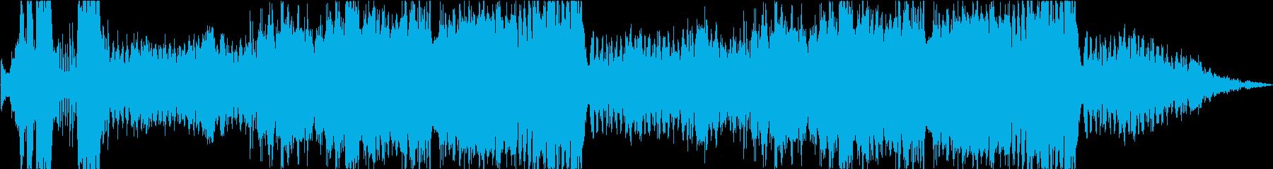 カートゥーン調のコミカルなオーケストラの再生済みの波形