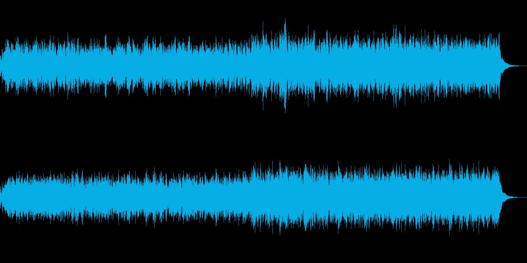 背景的音楽ーMeditationの再生済みの波形