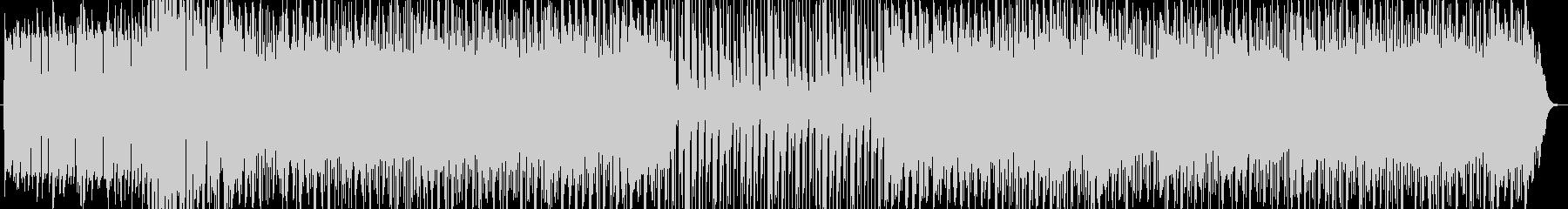 疾走感のあるテクノループ音楽 の未再生の波形
