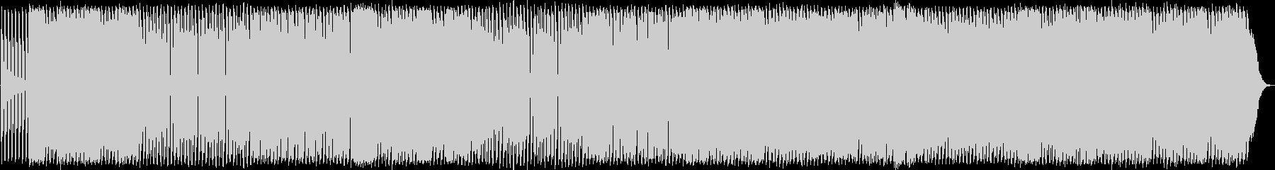 アップテンポファンキーハウスミュージックの未再生の波形