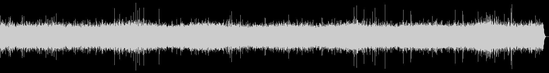 河川敷の音(川の音、少し強め)の未再生の波形