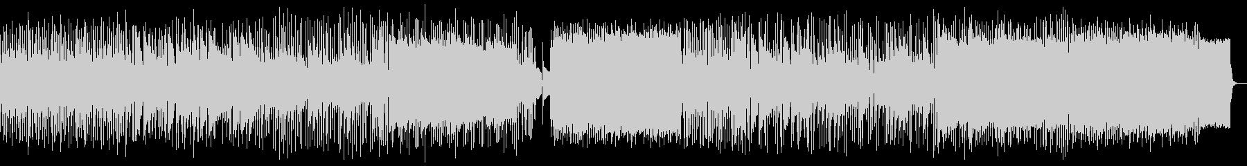 屋根裏部屋イメージ:米フォーク風スロー曲の未再生の波形