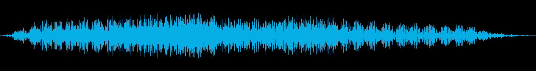 未知の領域2の再生済みの波形