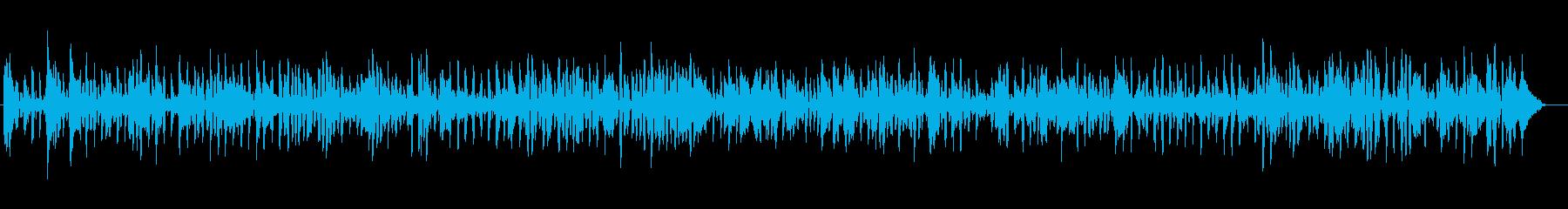 クラリネットの楽しくてノリの良い楽曲。の再生済みの波形