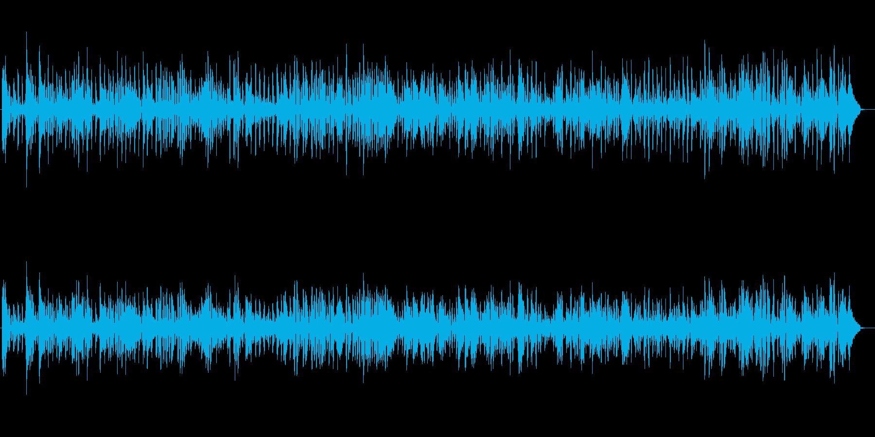 クラリネット☆楽しくてノリの良い楽曲♪の再生済みの波形