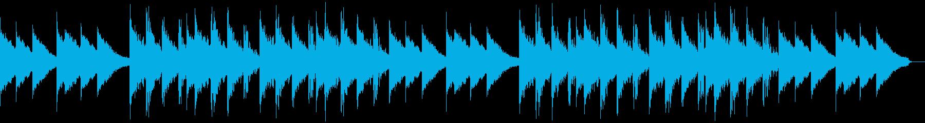 心に深く訴えかけるシネマティックなピアノの再生済みの波形