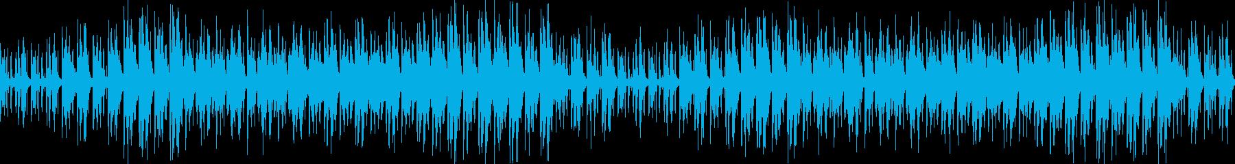 日本昔話の様な優しい和風ループの再生済みの波形